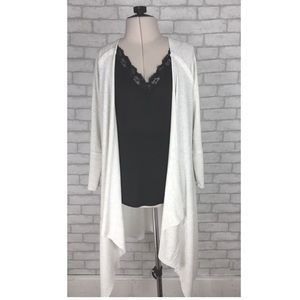 Wild Pearl Nordstrom Long Waterfall Open Cardigan